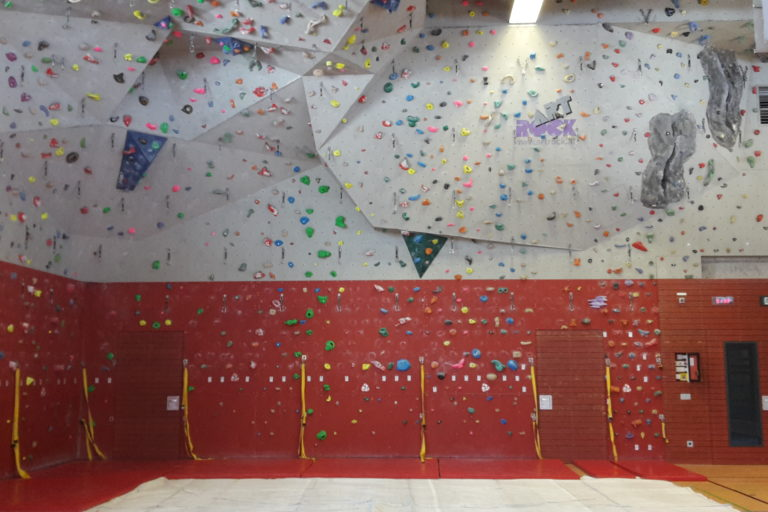 Kletterhalle Karlsgymnasium gesperrt