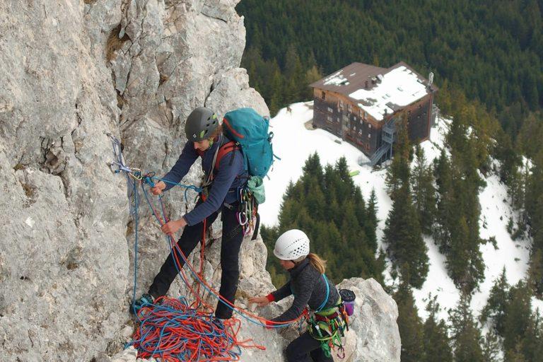 Fortbildung Alpinklettern