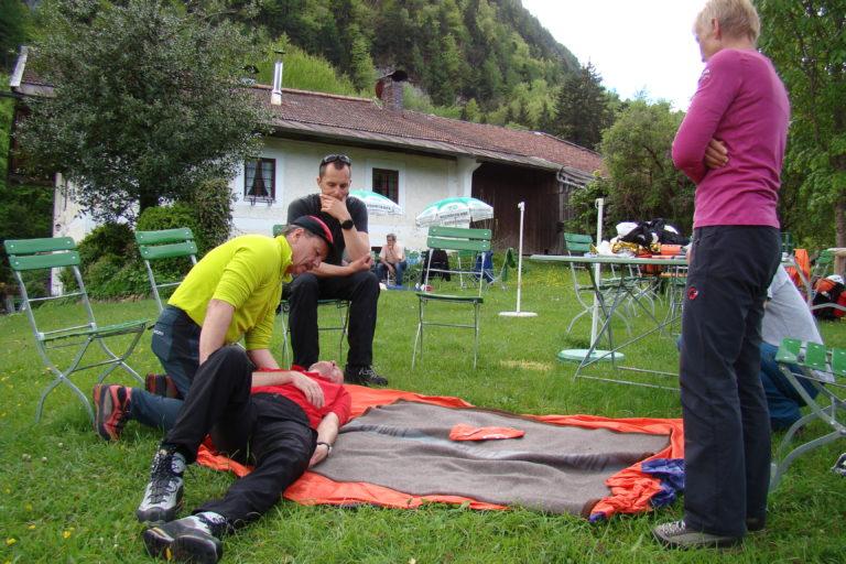 Methoden der Bergrettung