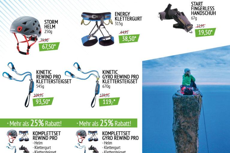 AKTION Riap Sport – Klettersteigset CAMP