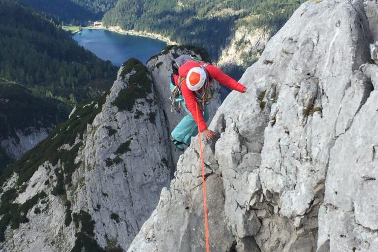 Klettertour im Gosaukamm