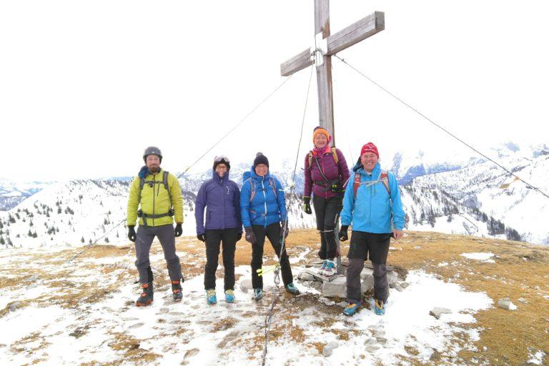 Skitour auf den hohen Zinken, Osterhorngruppe