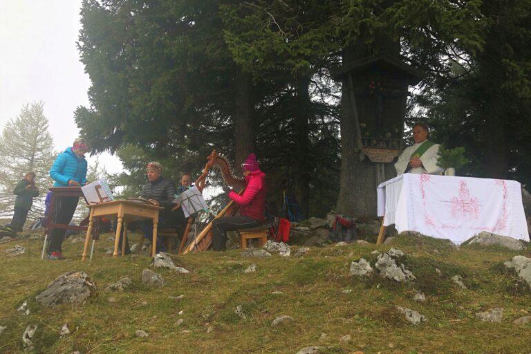 Berggottesdienst der Sektion