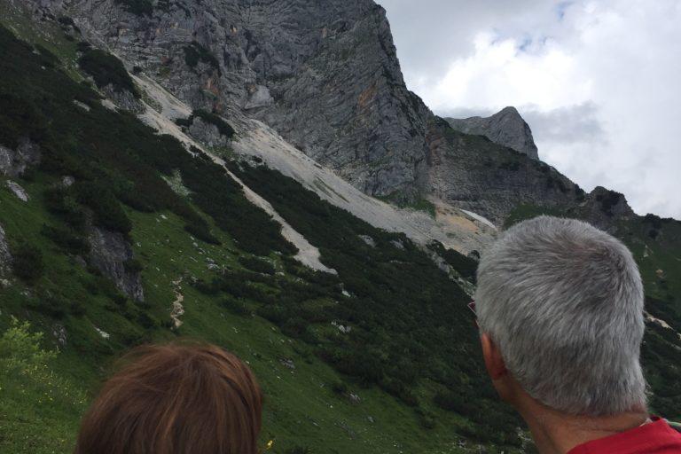 Klettern am Untersberg