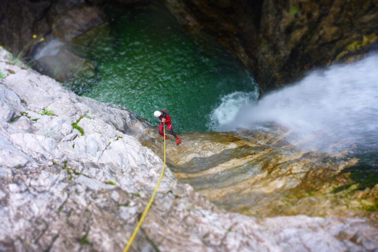 Canyoning Wochenende in Italien