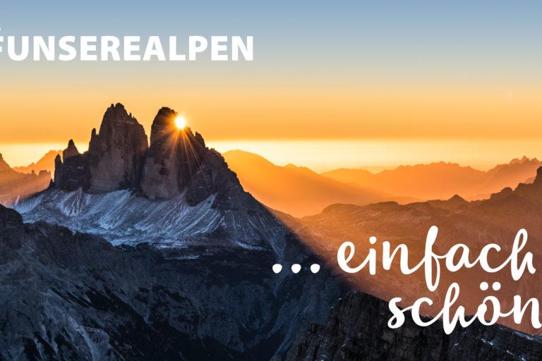"Kampagne ""Unsere Alpen"""