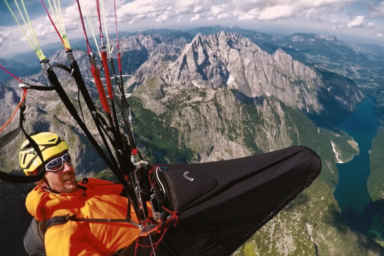 Die Berchtesgadener Alpen von oben