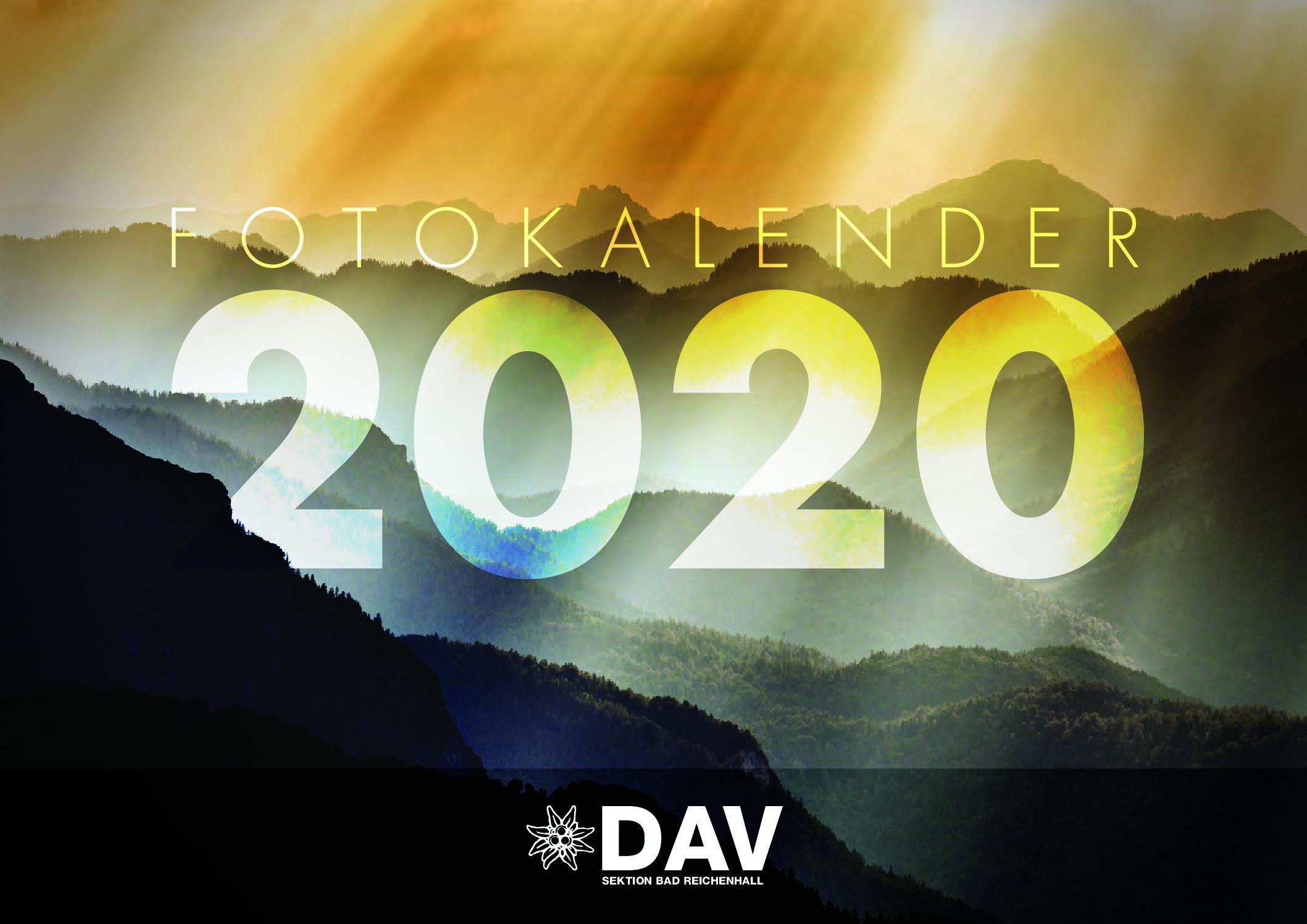Kalender 2020 der DAV-Sektion Bad Reichenhall