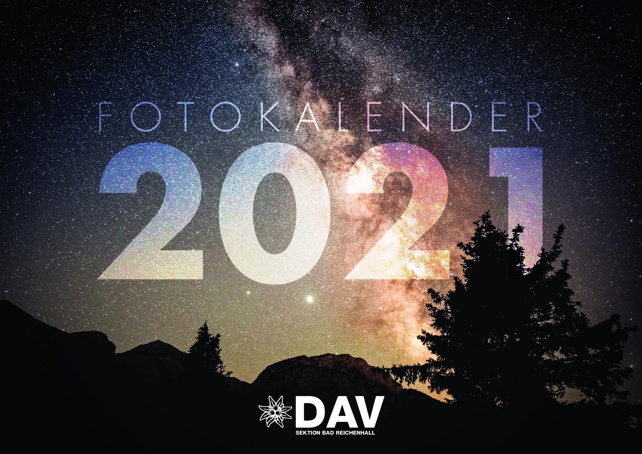 Kalender 2021 der DAV-Sektion Bad Reichenhall