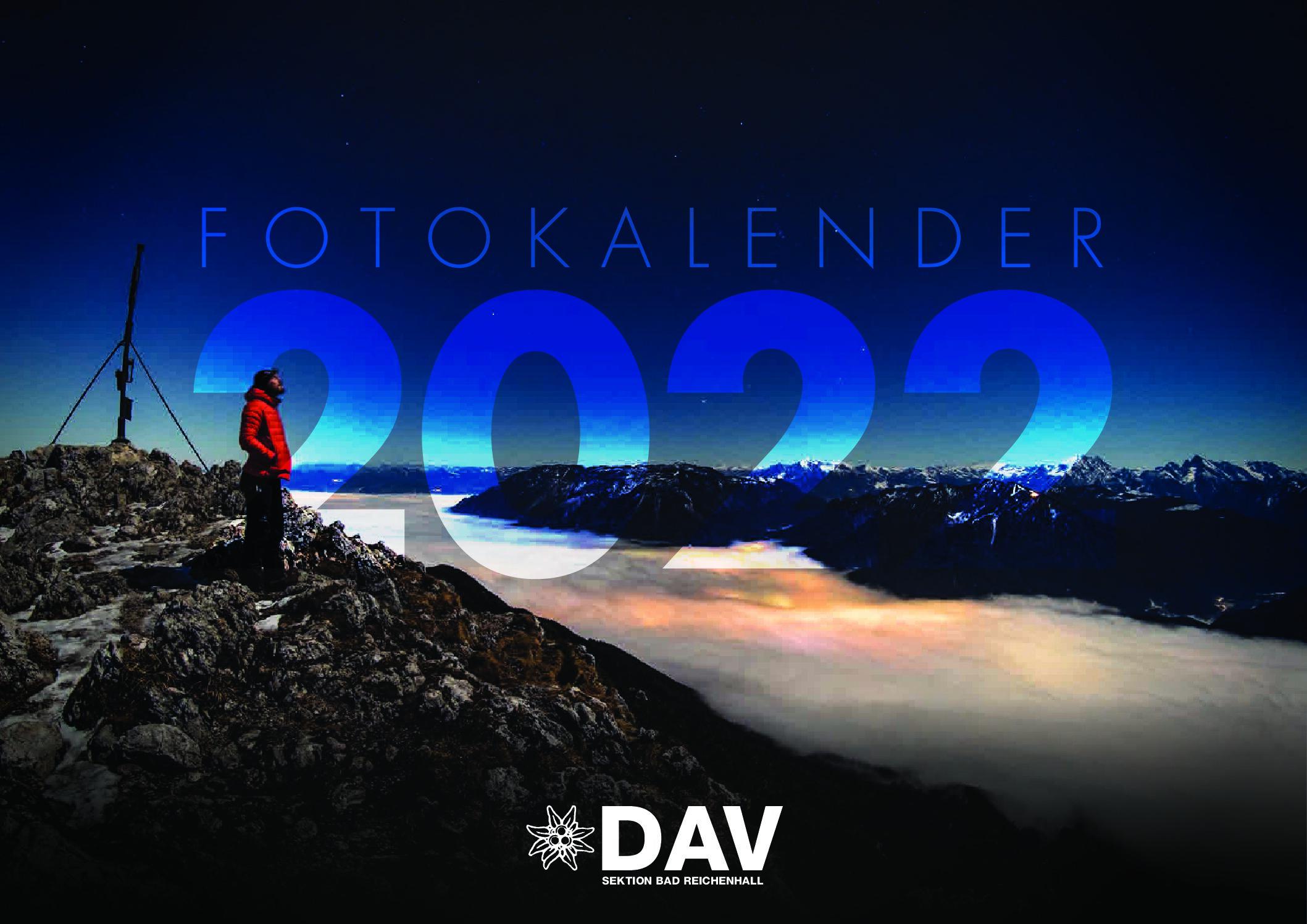 Kalender 2022 der DAV-Sektion Bad Reichenhall